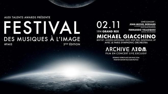 Bientôt la troisième édition du Festival des musiques à l'image !