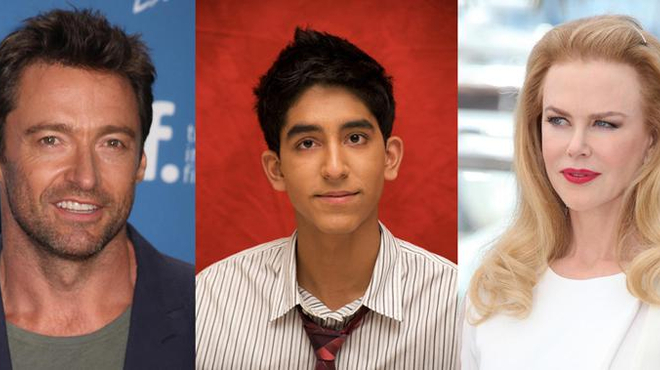 Hugh Jackman, Nicole Kidman et Dev Patel dans Lion