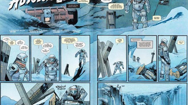Interstellar : Un Comic Book écrit par Christopher Nolan révélé
