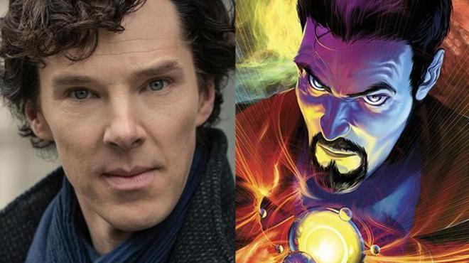 Benedict Cumberbatch est le Dr. Strange de Marvel !