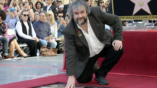 Une étoile à Hollywood pour Peter Jackson !