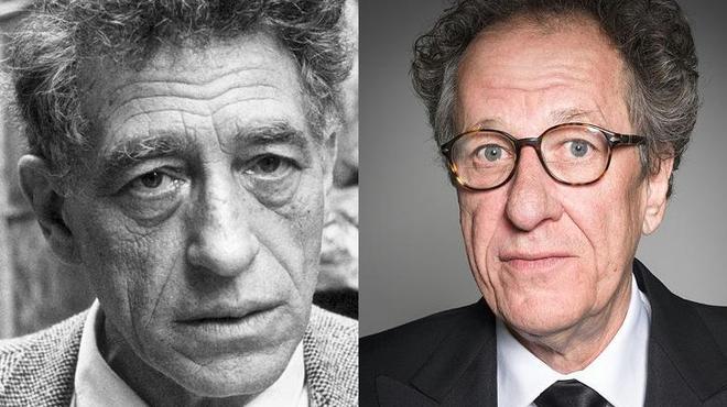 Geoffrey Rush devient Giacometti pour Stanley Tucci