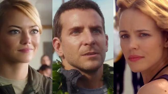 Aloha : Bradley Cooper entre Emma Stone et Rachel McAdams (Bande-annonce)