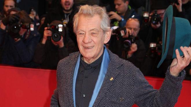 Berlin 2015 : Ian McKellen présente Mr. Holmes (Galerie)