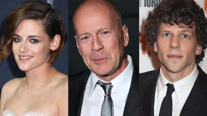Kristen Stewart, Bruce Willis et Jesse Eisenberg chez Woody Allen