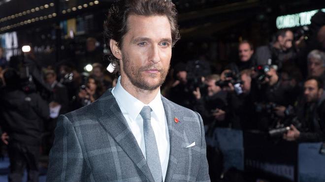 Matthew McConaughey se met au trafic de vin