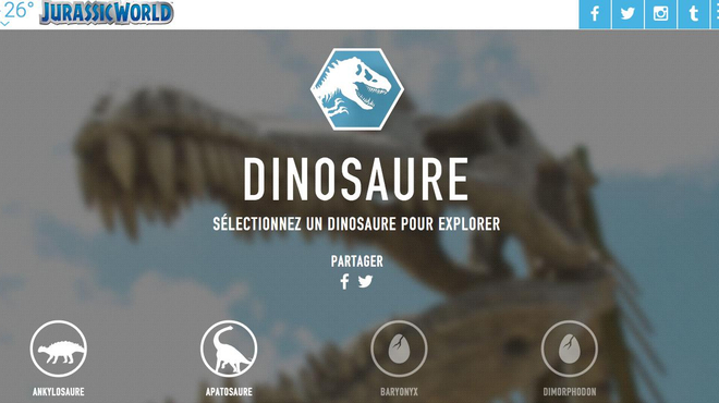 Jurassic World : Les nouveaux dinos se dévoilent !