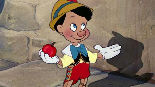Pinocchio en chair et en os chez Disney