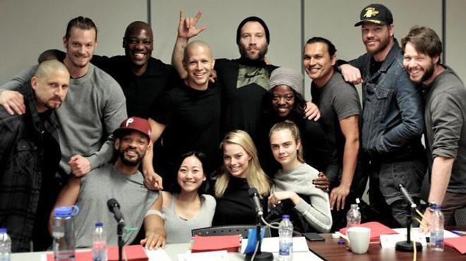 Suicide Squad : Le casting prend la pose (Photo)