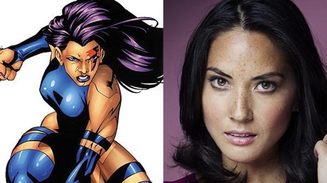 X-Men Apocalypse : Olivia Munn sera Psylocke