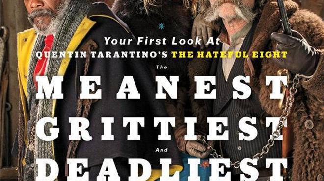 Les Hateful Eight de Tarantino se dévoilent (Photos)