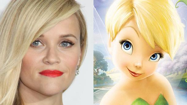 Reese Witherspoon devient la Fée Clochette !