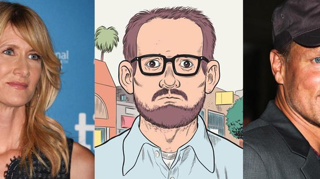 Woody Harrelson dans l'adaptation de Wilson de Daniel Clowes