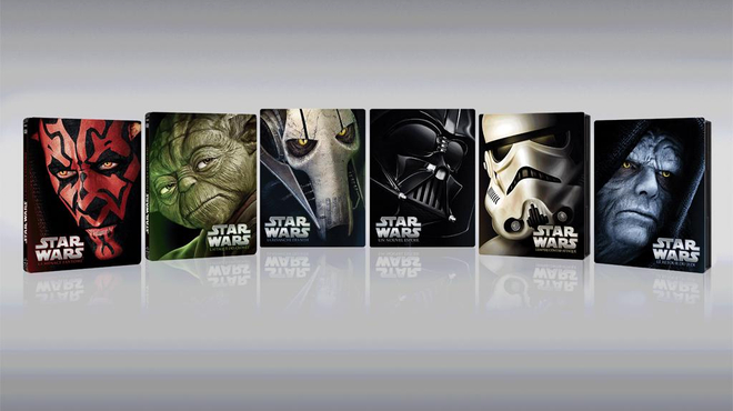 Star Wars : L'intégrale de la Saga en édition Steelbook collector !