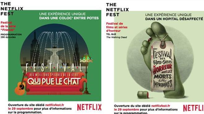 Netflix lance un festival de séries gratuit et insolite !