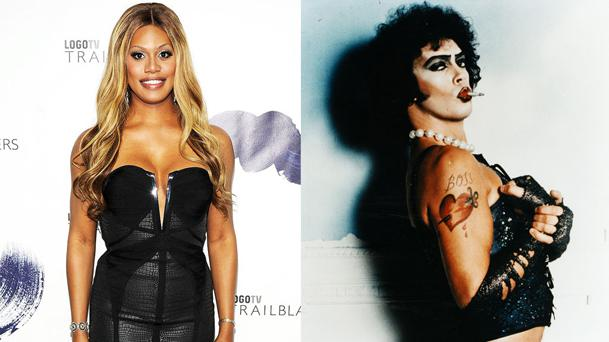 Laverne Cox dans le remake TV The Rocky Horror Picture Show !