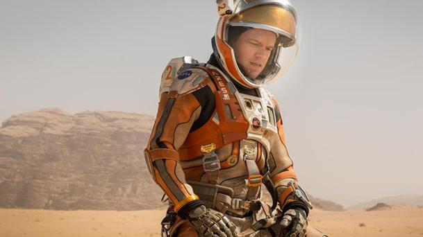 Box-office US : Seul sur Mars en orbite