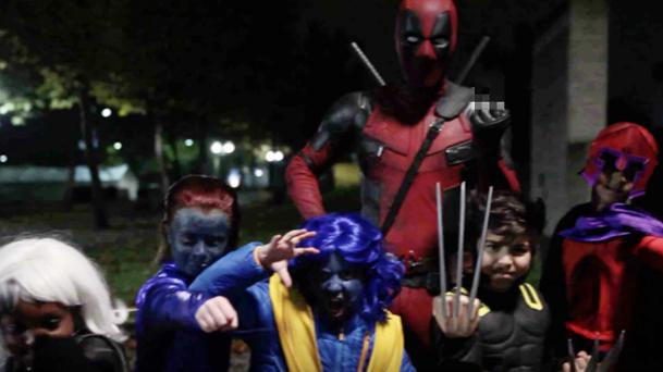Comment Deadpool fête Halloween