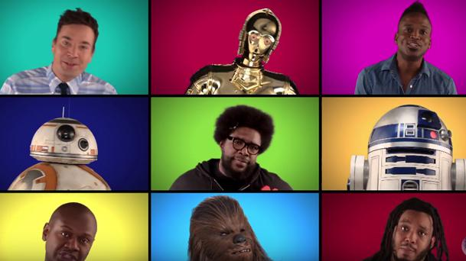 Star Wars : Les acteurs chantent a capella les musiques de la saga !