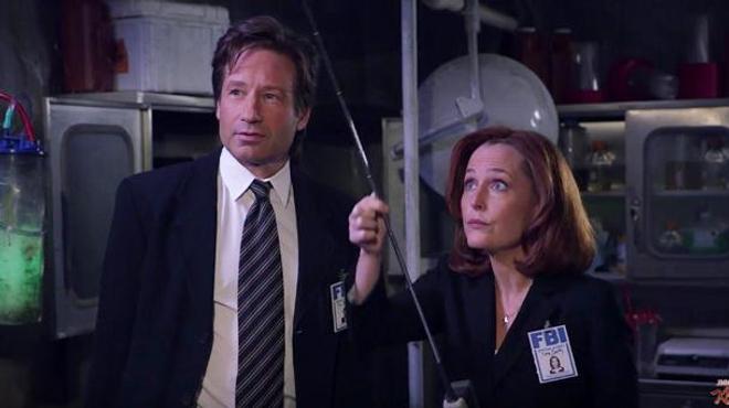 X-Files : Mulder et Scully chez Jimmy Kimmel