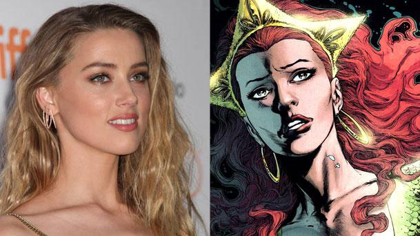 Amber Heard rejoint Justice League
