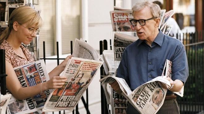 Scoop ! Voir la bande-annonce du prochain Woody Allen, avec Scarlett Johansson