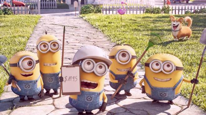 Les Minions sont de retour dans un court-métrage !