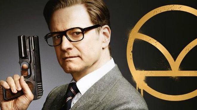 Colin Firth sur le tournage de Kingsman 2 (Photo)