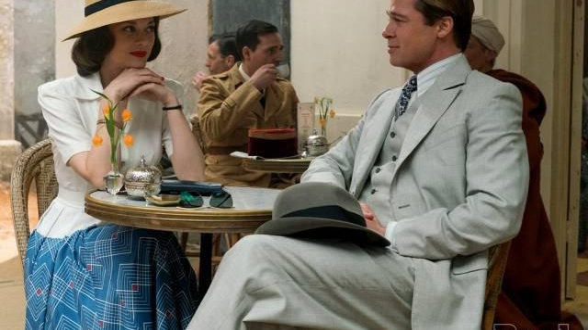 Allied : une première photo avec Brad Pitt et Marion Cotillard