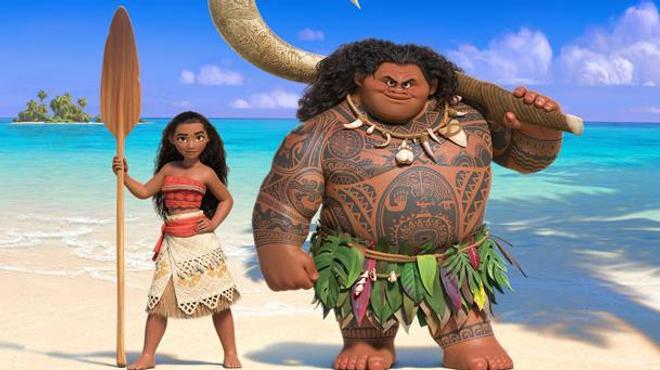 Disney : de nouvelles images colorées de Vaiana !