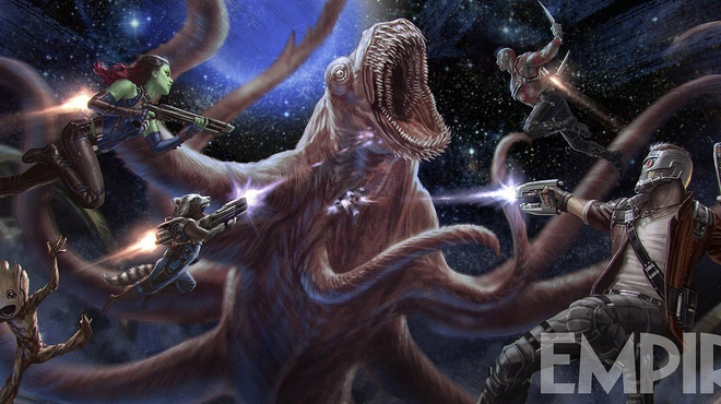 Les Gardiens de la Galaxie 2 : Un concept art effrayant !