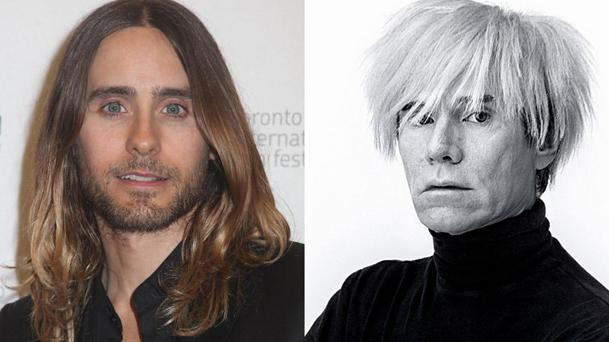 Jared Leto devient Andy Warhol