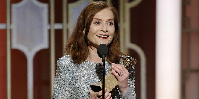 Golden Globes 2017 : L'émotion d'Isabelle Huppert sacrée meilleure actrice