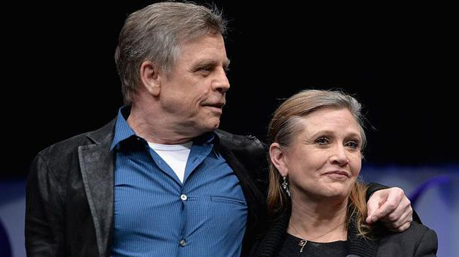 Star Wars : l'émouvant hommage de Mark Hamill à Carrie Fisher