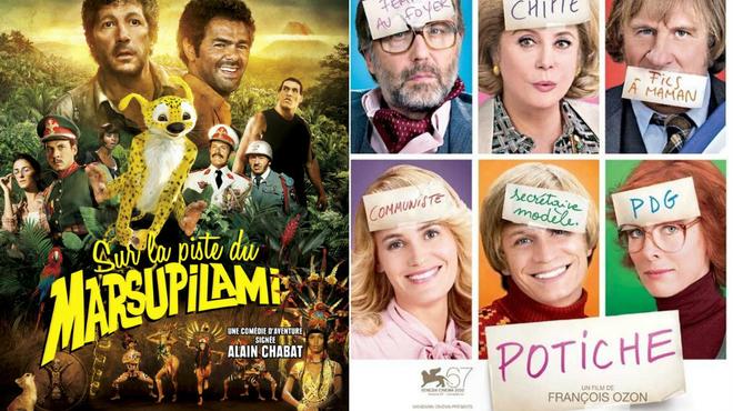 """Ce soir à la télé : """"Sur la piste du Marsupilami"""" vs """"Potiche"""""""