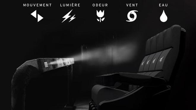 La première salle 4DX de France ouvre au Pathé La Villette !