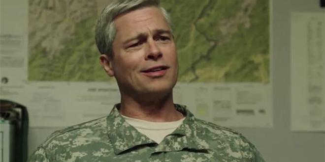 Brad Pitt au centre du film de guerre War Machine