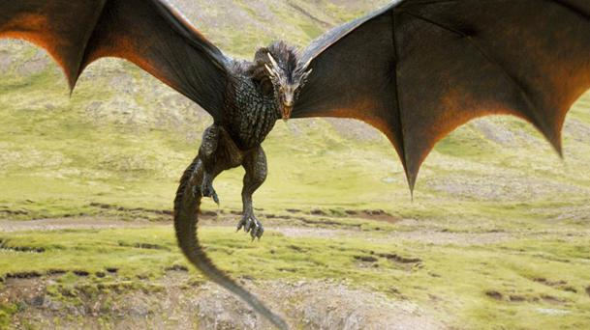 Game of Thrones saison 7 : la taille des dragons est impressionnante