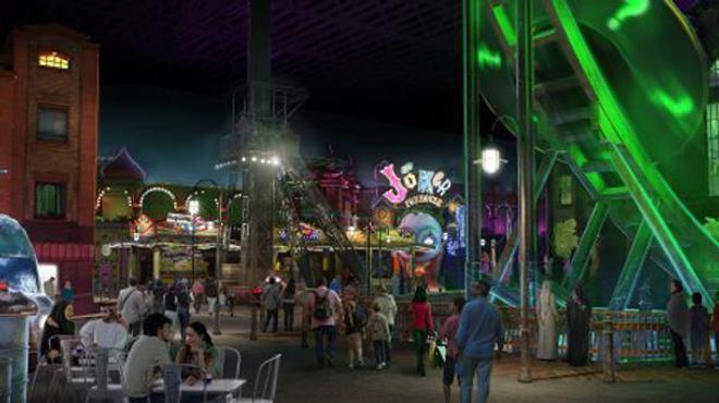 Warner construit Gotham City et Metropolis en vrai pour un parc d'attraction