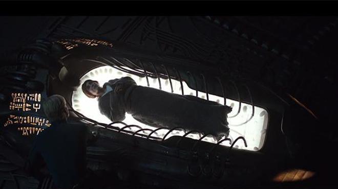 Alien Covenant : le prologue qui montre ce qui s'est passé après Prometheus