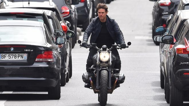 """Tom Cruise : Course-poursuite sur le tournage de """"Mission Impossible 6"""""""