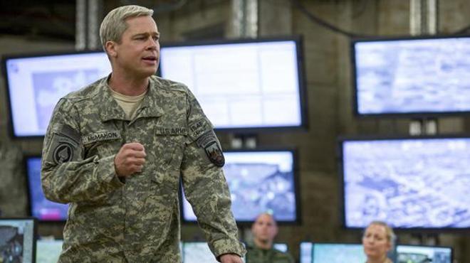 Un nouveau clip pour War Machine avec Brad Pitt