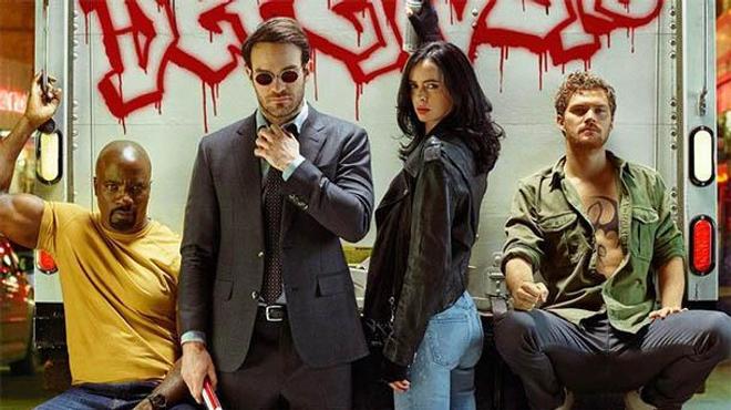 Un nouveau poster pour Marvel The Defenders