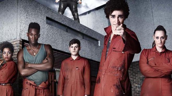 Misfits : la série revient dans un remake US !