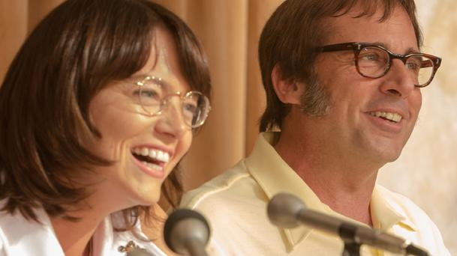 Battle of the Sexes : Emma Stone et Steve Carrel s'affrontent dans le premier trailer