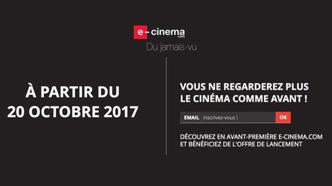 E-Cinema.com : la plateforme française qui veut révolutionner la SVoD