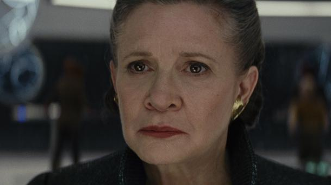 Star Wars 8 : Rian Johnson parle du rôle de Leia
