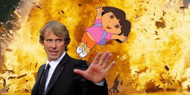 Dora l'exploratrice en live action tombe entre les mains de ... Michael Bay !