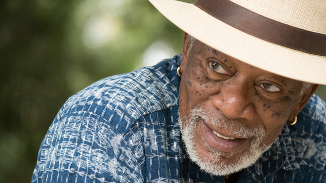 Morgan Freeman invité au ''Festin de l'Amour ''...