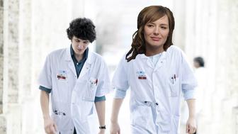 Louise Bourgoin dans une série hospitalière